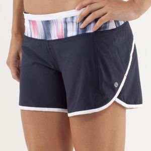 Lululemon Turbo Run Shorts Blue Luxtreme 6